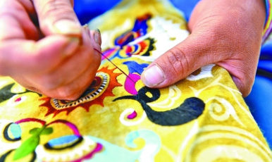 傳統手工藝助力鄉村振興