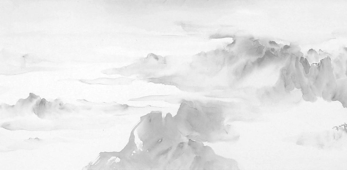 山水画的意境, 在于画家真实的情感表现!